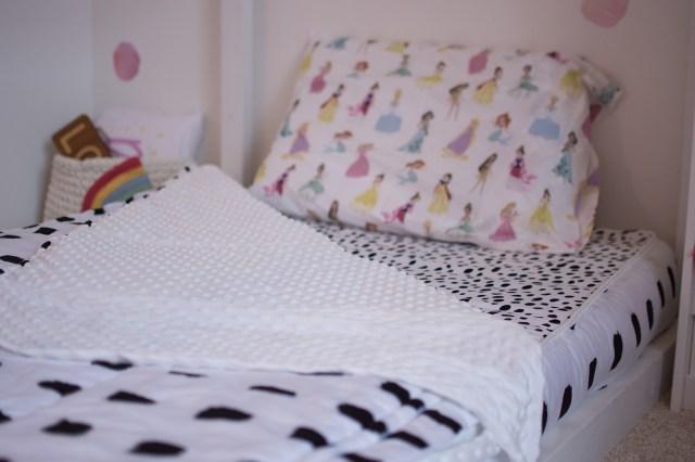 Floor Bed Girls Room