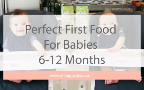 Perfect First Food For Babies 6-12 Months