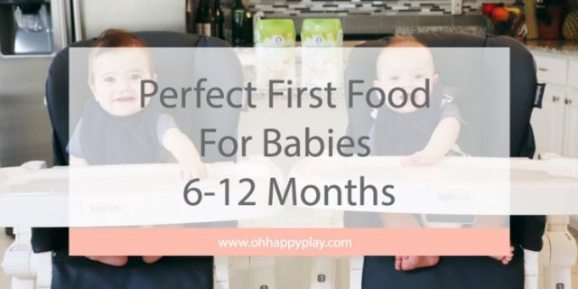 A baby's first year comes with lots of milestones! From rolling over, to sitting up and of course their FIRST taste of real food! Feeding your baby for the first time always comes with great joy but also some anticipation, at least for us it did!