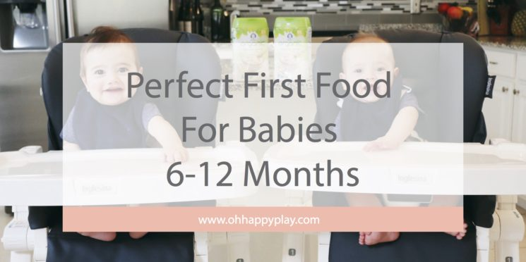 first food, starting solids, nutrition, baby food, best baby food, Gerber baby