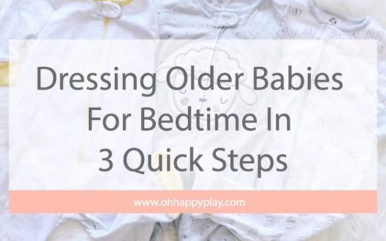 Gerber Essentials: Dressing Older Babies For Bedtime In 3 Quick Steps