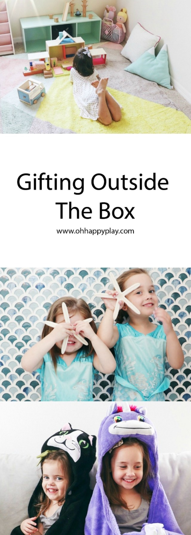 Gifting Outside The Box, holiday gift guide, gifts for kids, non toy gift ideas, non toy Christmas gift, comfy critters, Manhattan toy, best dress up clothes, quality dress up, quality princess dresses