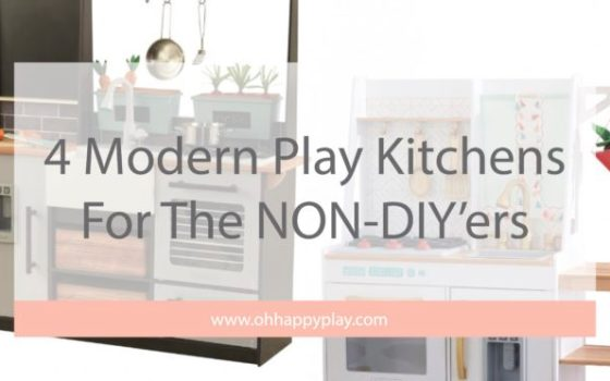 4 Modern KidKraft Play Kitchens For the NON-DIY'ers