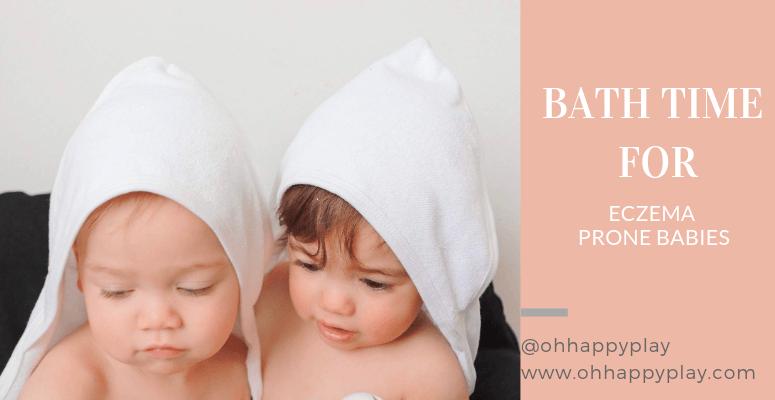 Bath Time For Eczema Prone Babies