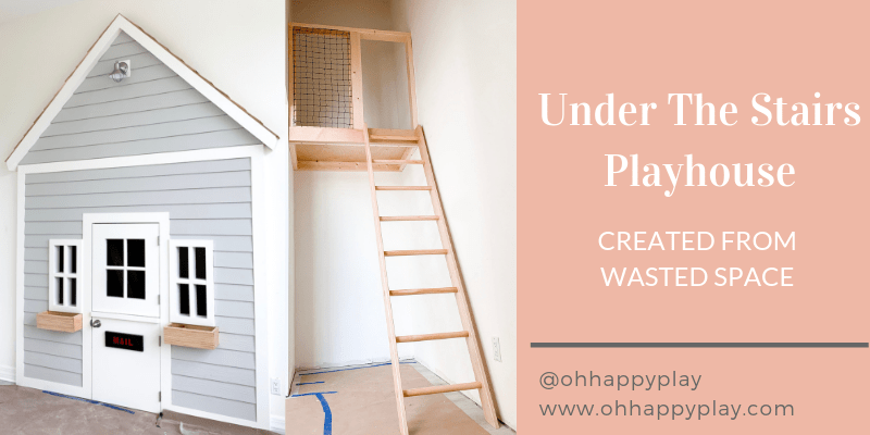 Under The Stairs Playhouse For Kids