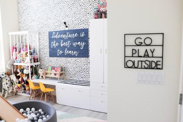 indoor playground, playroom design, creative playroom, go play outside