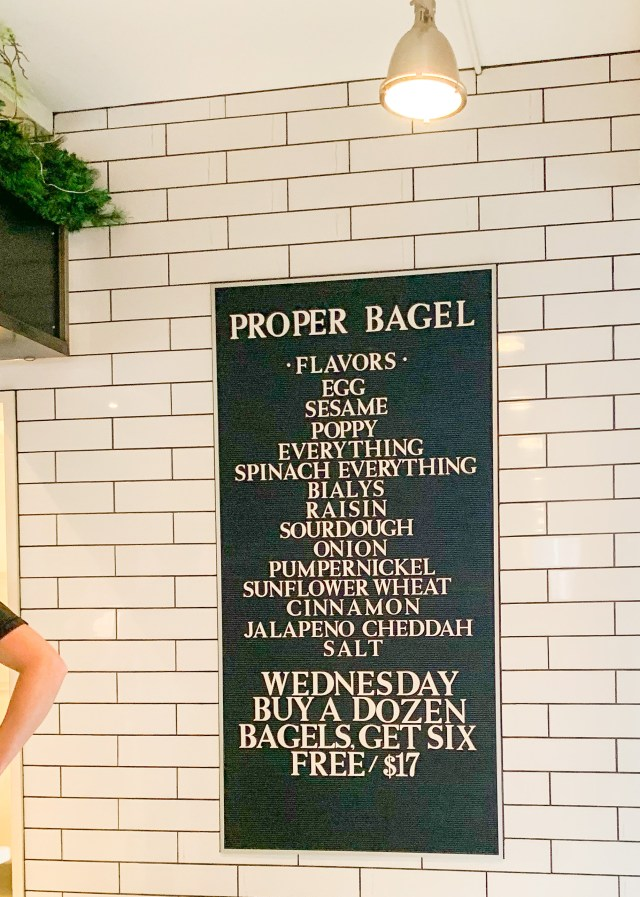 proper bagel, where to eat in nashville