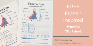 free frozen worksheet, printable, frozen printable, frozen worksheet, homeschool worksheet, kindergarten worksheet, frozen kindergarten worksheet