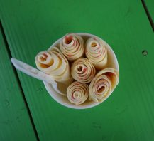 best frozen treats in New Orleans, ice roll, dat ice