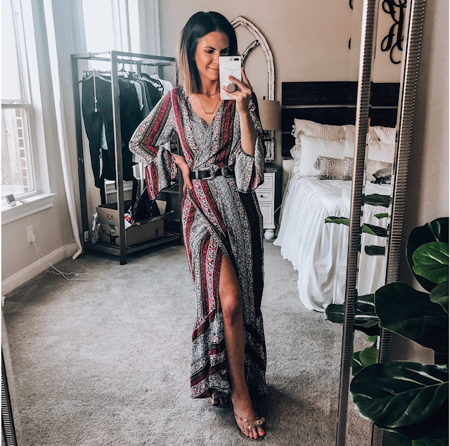 Amazon Wrap Dress