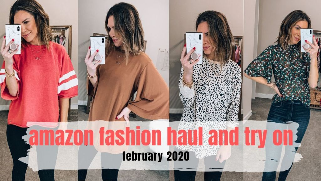 amazon women's fashion haul and try on February 2020