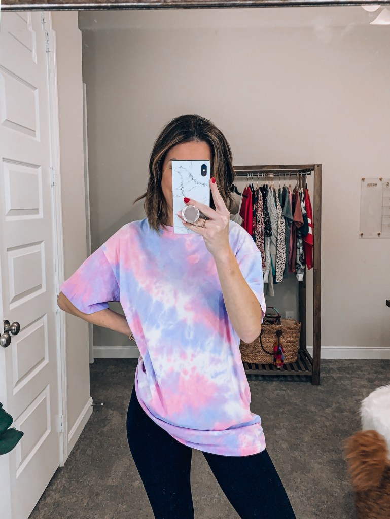 amazon tie dye top