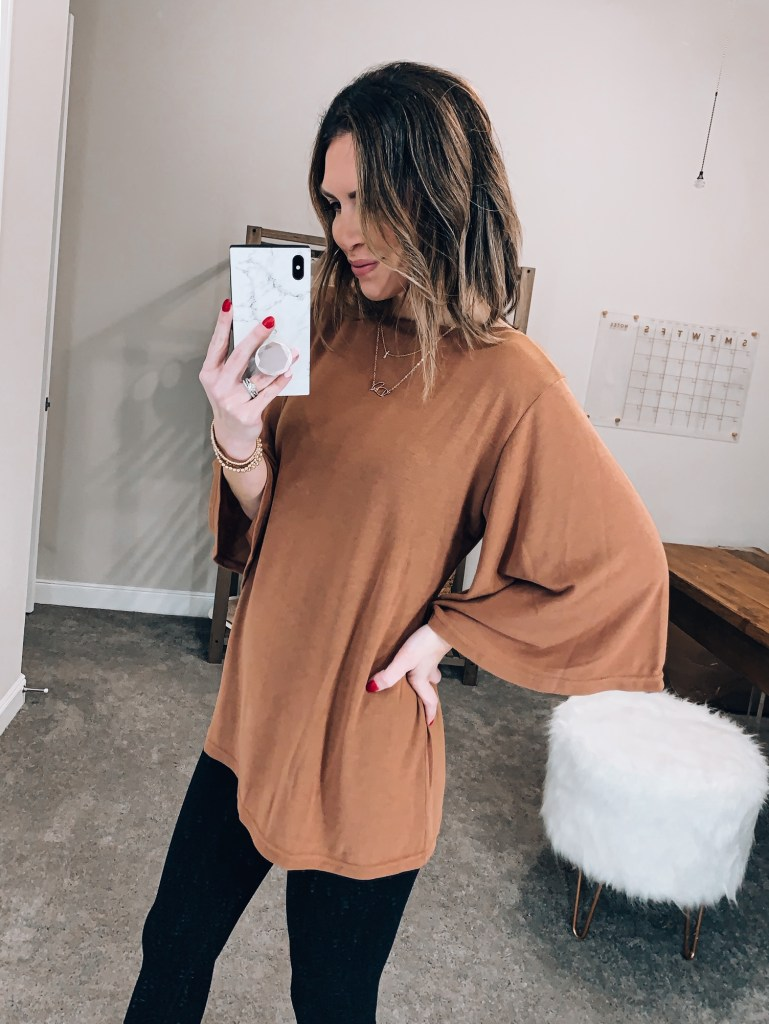 amazon flutter sleeve top