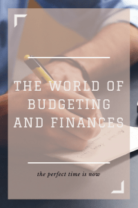 Budget, budgeting