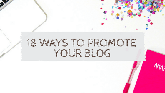 promote your blog