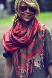 Rocking Fall Fashion Scarves Styles to Contemplate - Ohh My My