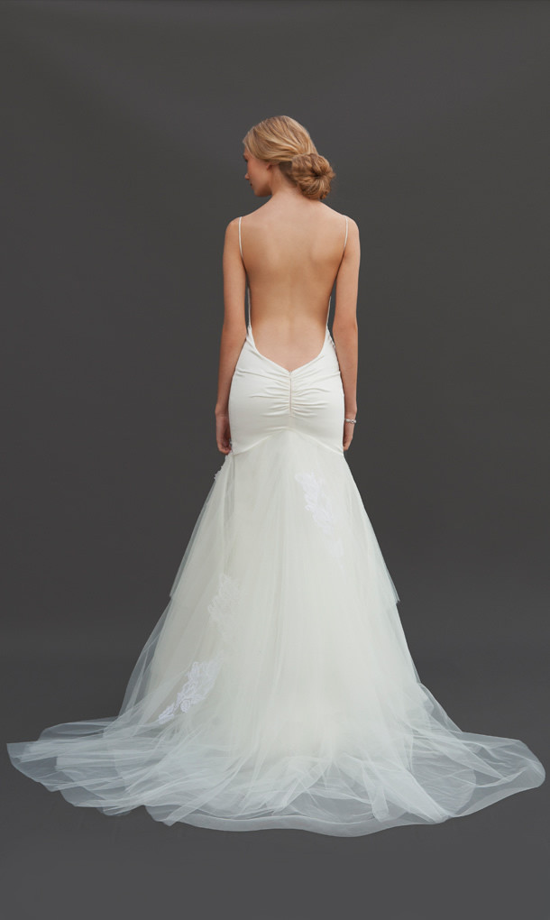 Enhance Your Glamour with a Backless Wedding Dresses  Ohh