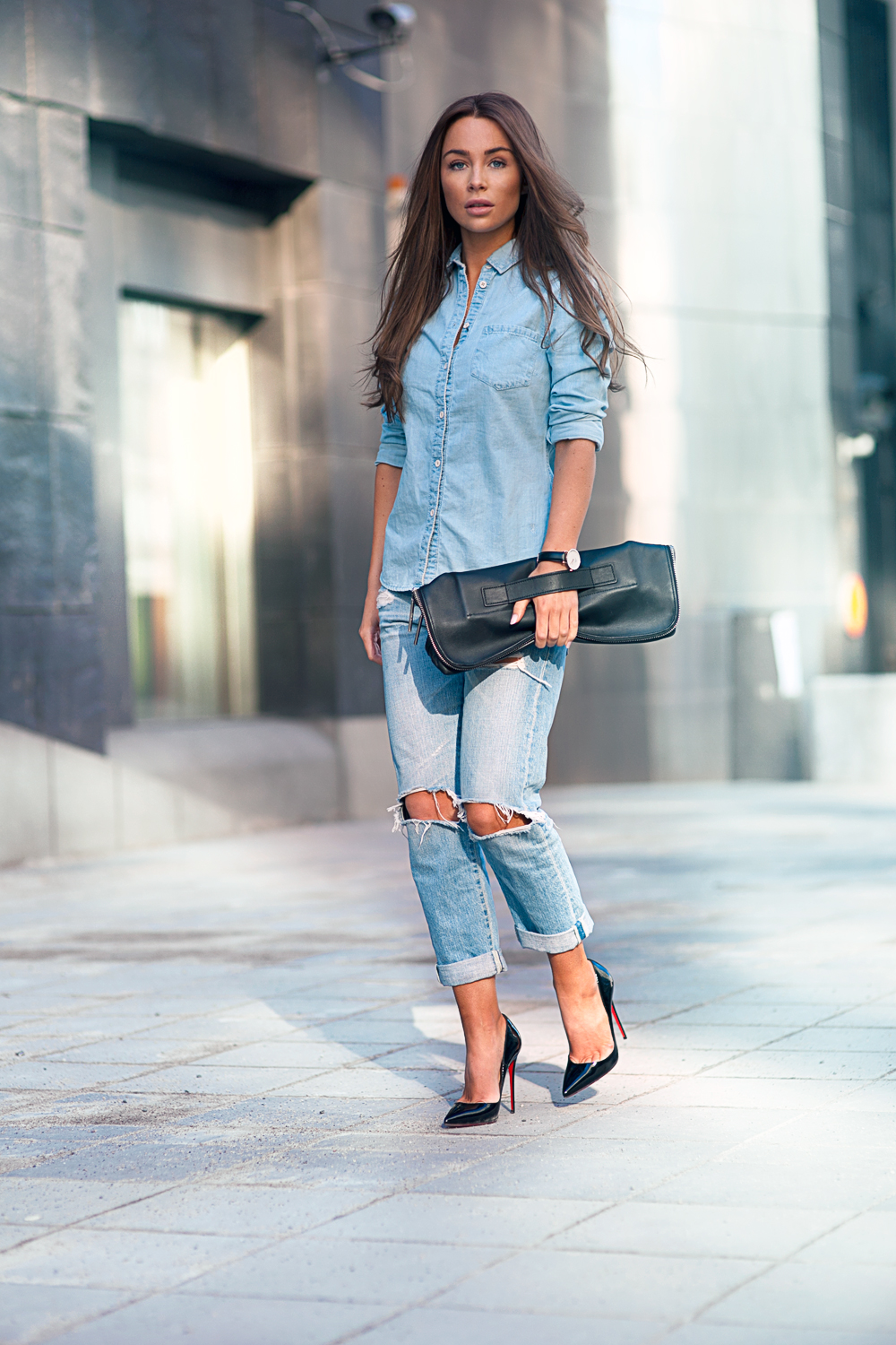 Fashionable Denim Outfit Ideas for Women  Ohh My My