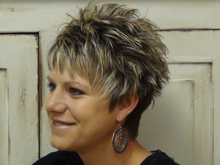 bold and beautiful short spiky haircuts for women - ohh my my