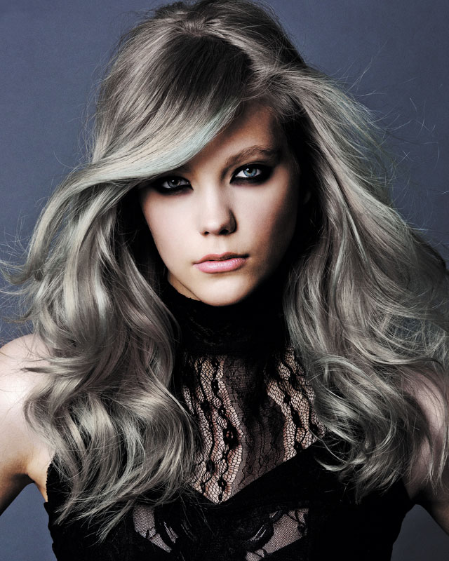 25 New Gray Hair Color Long Hairstyles 2016 2017 Of Grey