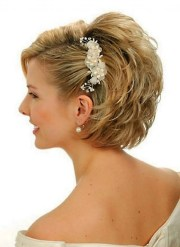 short wedding hairstyles makes
