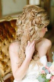 glamorous and romantic wedding