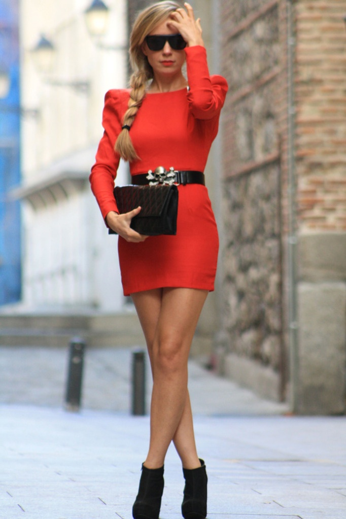 25 Classic Red Dresses For Christmas Eve Party Ohh My My