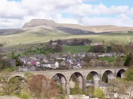 Ingleborough over Ingleton
