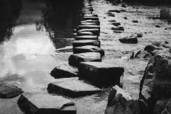 Ingleborough stepping stones