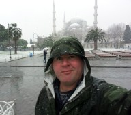 Snow in Istanbul (Constantinople)