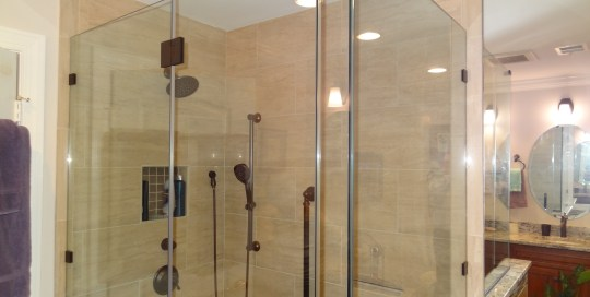 OHI Design Shower Installation