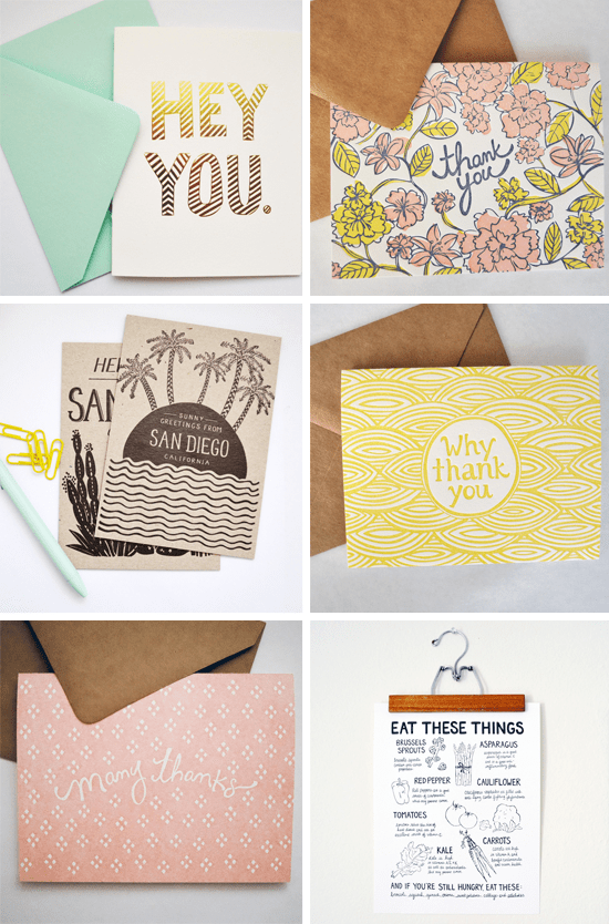 Odd Daughter Paper Co. via Ohidesign Blog