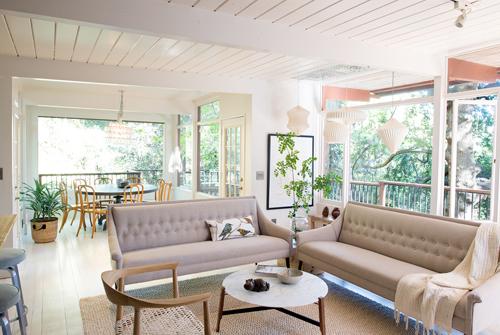 The Treehouse Living Room Via Oh I Design Blog