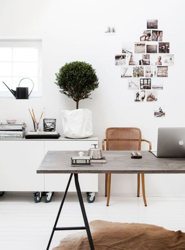 workspace inspiration via oh, i design blog
