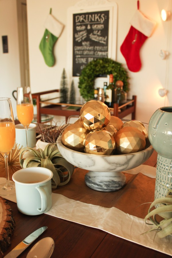 boston apartment holiday shoot // via oh, i design blog