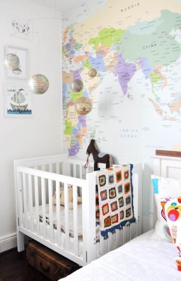 a guest bedroom and nursery!