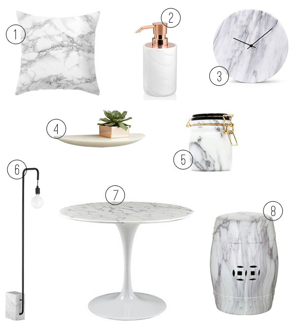 marble via oh i design blog