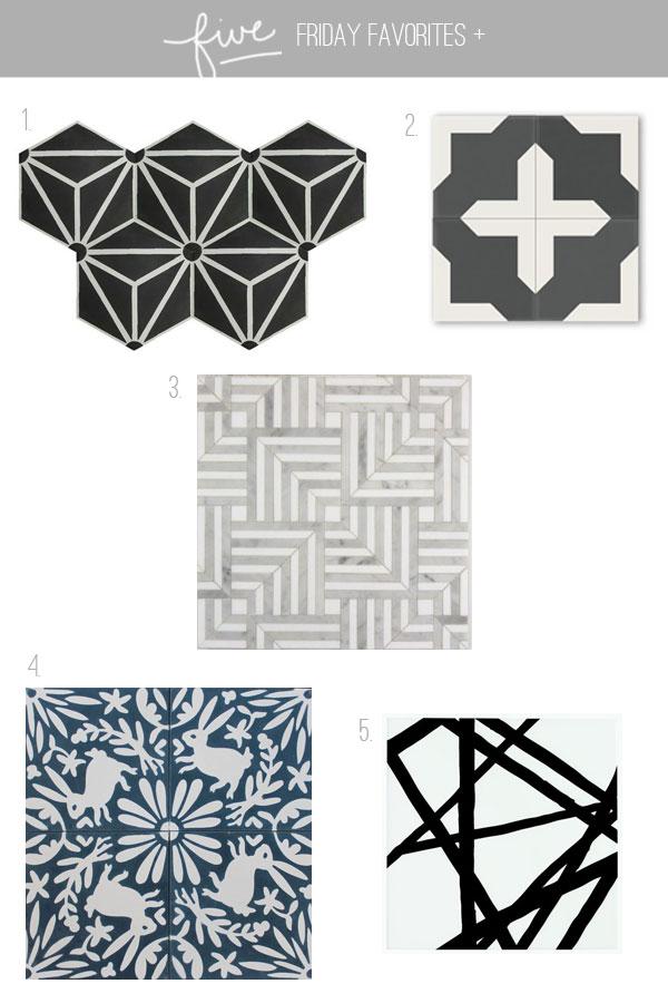 five-friday-favorites-tiles