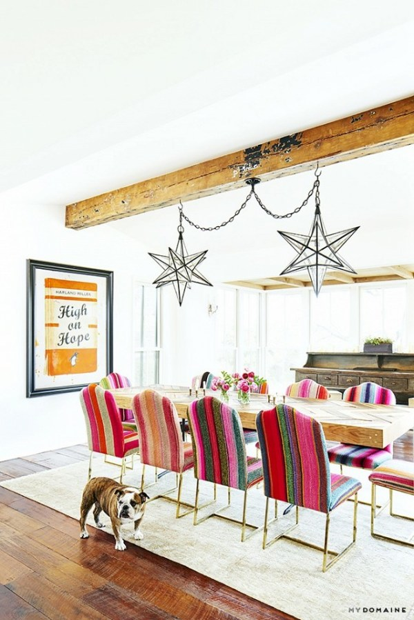 Brooklyn Deckers Eclectic Texas Home Turns On The