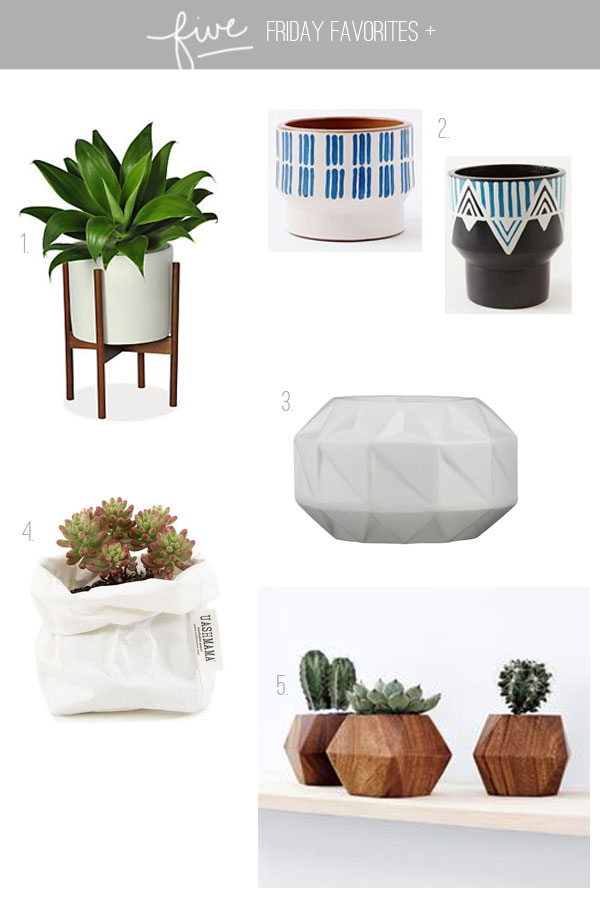 five-friday-favorites-planters