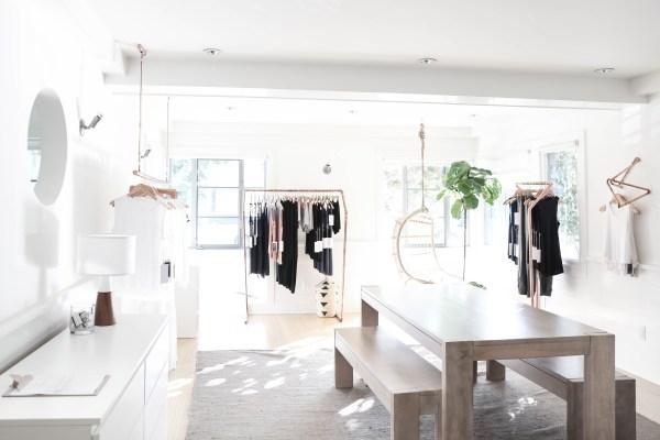 Lunya's Office Space via Oh, I Design Blog
