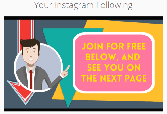 Your Instagram Following. 10 Steps to Gain More Instragram Followers. Join For Free Below, and see You on the next page.