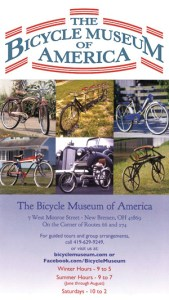 Image: Ad for Bicycle Museum of America