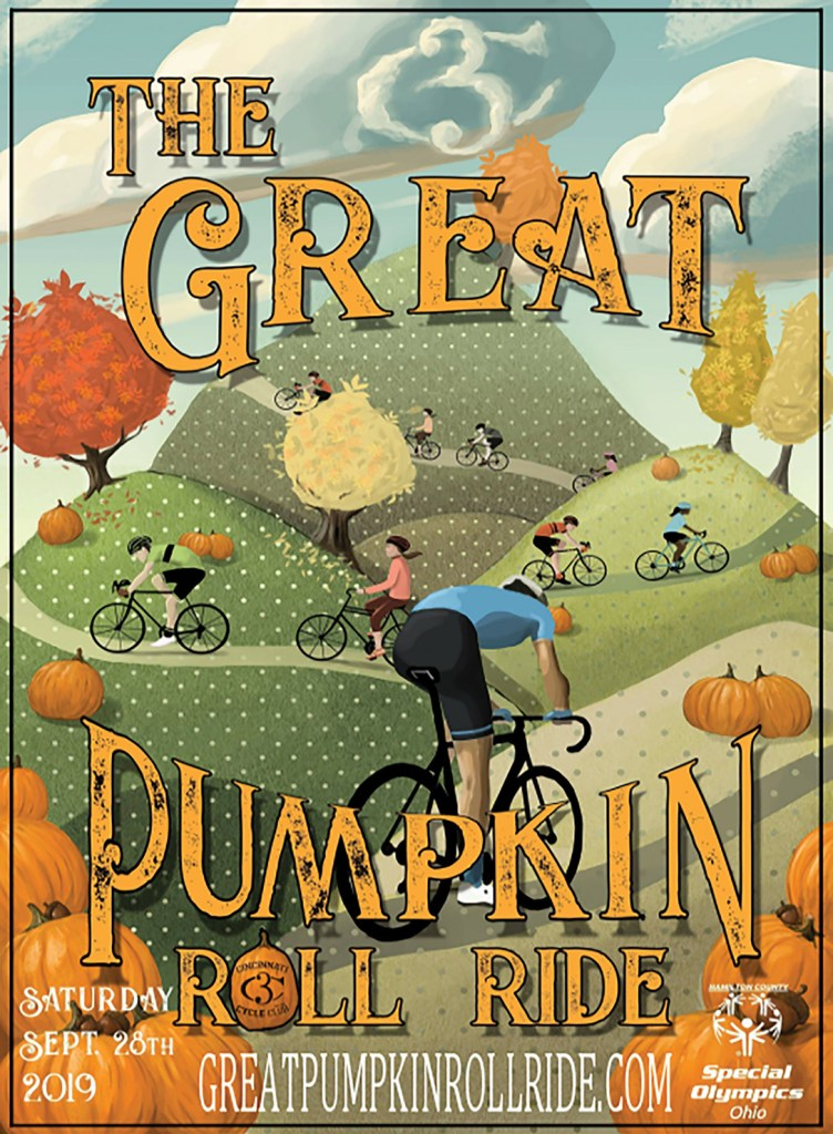Image: Ad for 2019 CCC Pumpkin Roll Ride