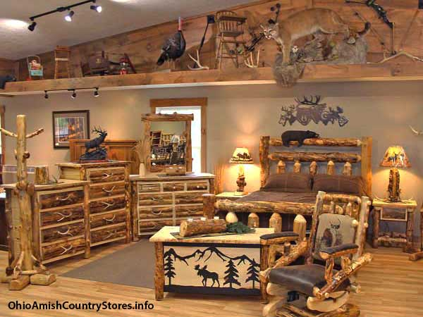 Millers Rustic Furniture Ohio Amish Country Stores