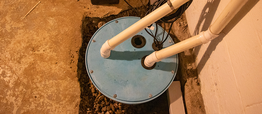 sump pump fix