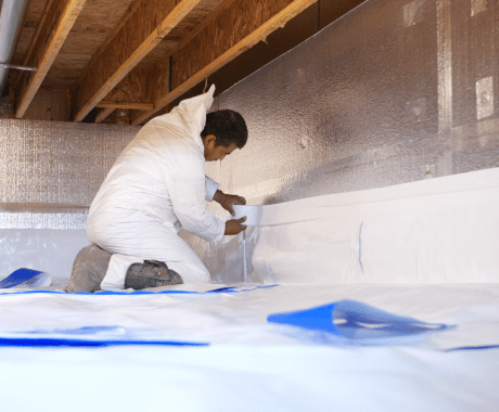 Encapsulating Your Crawl Space with a Vapor Barrier & How This Helps