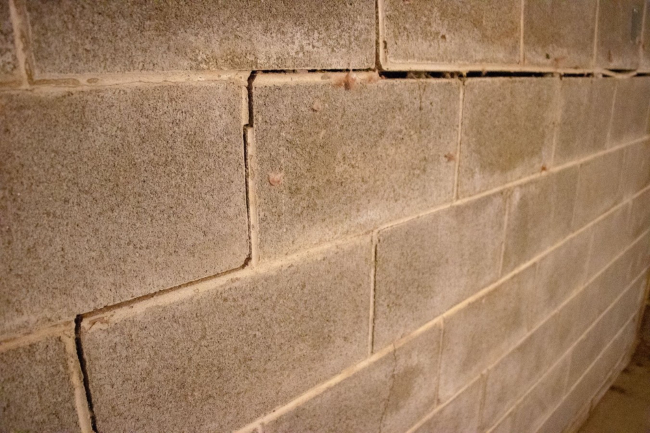 foundation wall problems