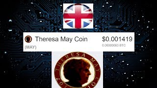 THERESA MAY CRYPTOCOIN HAS BEEN LAUNCHED