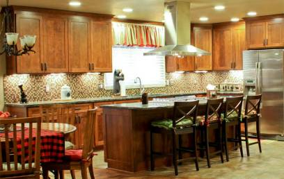 upper-arlington-4-Cherry-wood-shaker-style_-traditional-stained-kitchen-cabinets